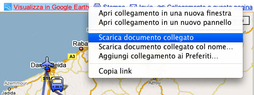 riferimento a google maps
