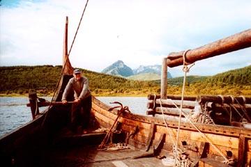 Steering the Viking Longship - Lofoten Is