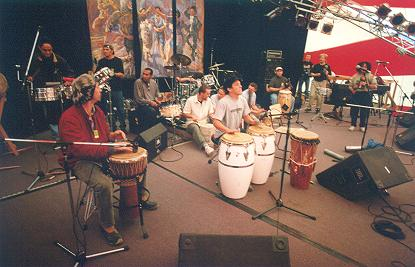drumming-band-on-stage