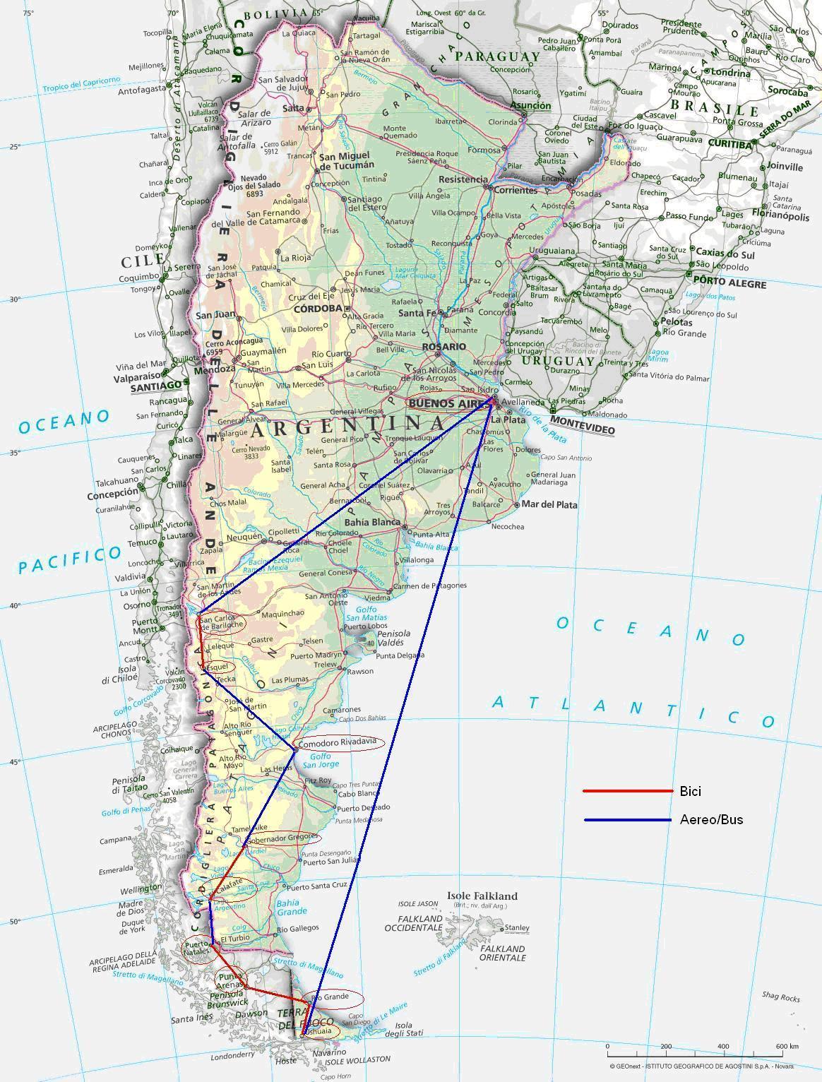 Patagonia Cartina Geografica.Patagonia 1999 Nofear It