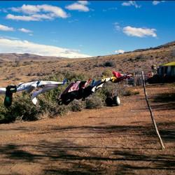 Lago Cardiel – Il vento, immancabile compagno di viaggio