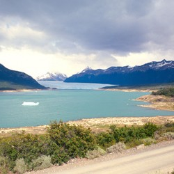 El Calafate – Il Perito Moreno, ancora lontano ma imponente