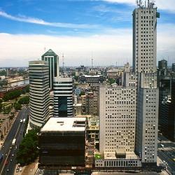 Buenos Aires – Paseo Alem y Cordoba