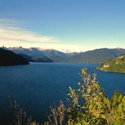 Direzione Esquel – Il lago Futalaufquen