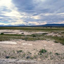 Direzione lago Cardiel – Nessuna traccia di esseri umani