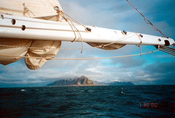 The coast of Spitzbergen